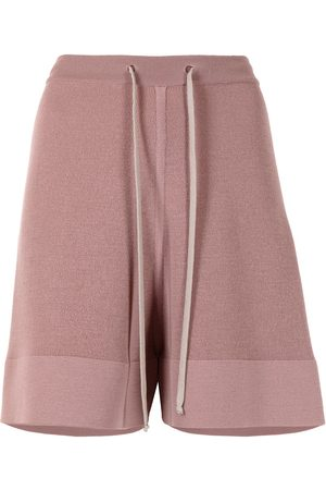 Rick Owens Knee-length knitted shorts