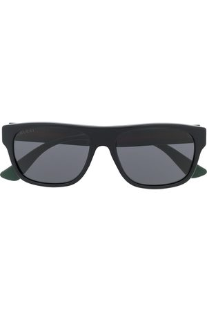 Gucci Rectangle-frame sunglasses