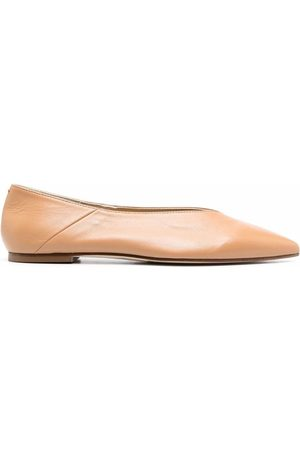 Aeyde Pointed-toe ballerina shoes