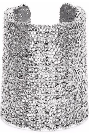 Aurélie Bidermann Perforated lace bracelet