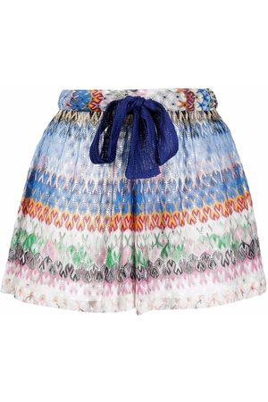 Missoni Embroidered beach shorts