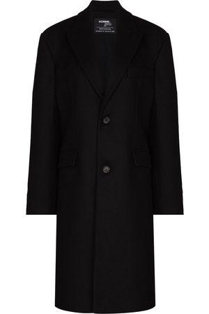 HOMMEGIRLS Peak-lapel single-breasted coat