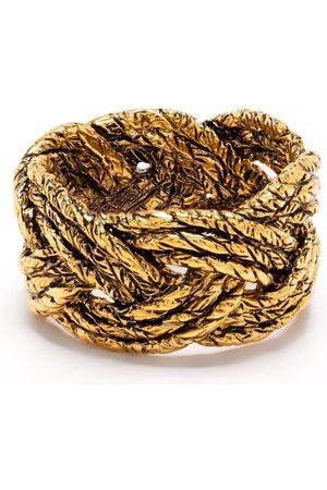 Aurélie Bidermann Miki braided ring