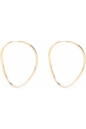 Dinny Hall Wave XL hoop earrings
