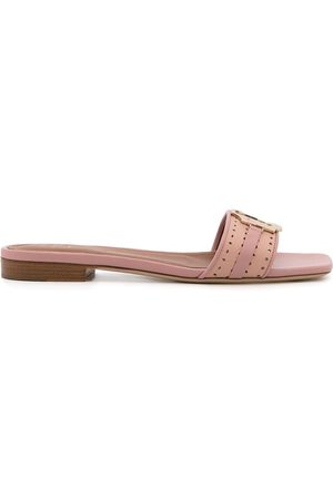 MALONE SOULIERS Gena slip-on leather sandals