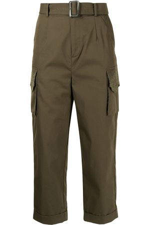 BAPY BY *A BATHING APE® Belted cropped trousers