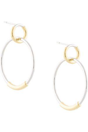 ESHVI Double-hoop earrings