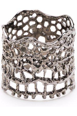 Aurélie Bidermann Lace-effect ring