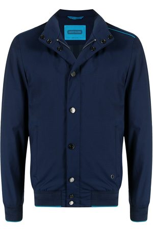Stefano Ricci Contrasting pipe-trim jacket