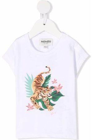 Kenzo Jungle Tiger-print cotton T-shirt