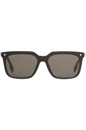 Burberry Eyewear Stripe detail square-frame sunglasses