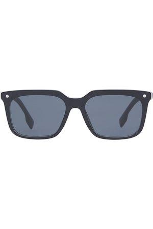 Burberry Eyewear Stripe detail square frame sunglasses