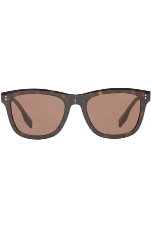 Burberry Logo-detail square-frame sunglasses
