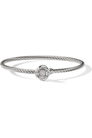 David Yurman 3mm infinity pavé bracelet