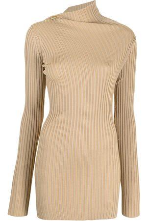 Proenza Schouler Asymmetric-neck ribbed jumper