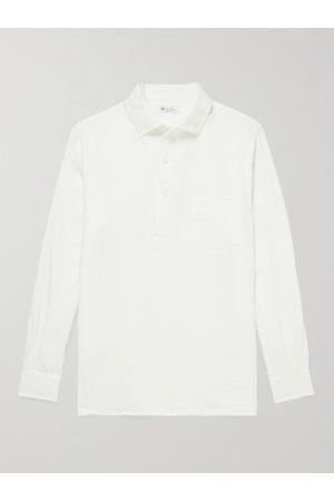 Loro Piana Andre Linen Half-Placket Shirt