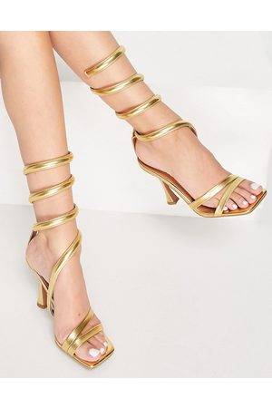ASOS Women Sandals - Neo ankle detail high heeled sandals in