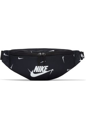 Nike Heritage bum bag in with mini swoosh all over print