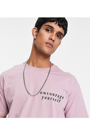 New Look Oversized t-shirt with encourage print in