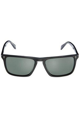 Oliver Peoples Men Sunglasses - Bernardo 56MM Rectangular Sunglasses