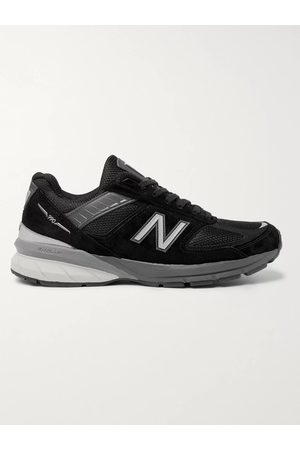 New Balance Men Sneakers - M990v5 Suede and Mesh Sneakers
