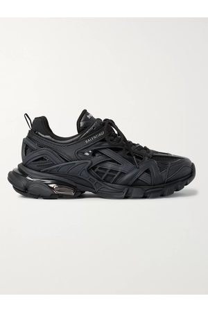 Balenciaga Men Sneakers - Track.2 Nylon, Mesh and Rubber Sneakers