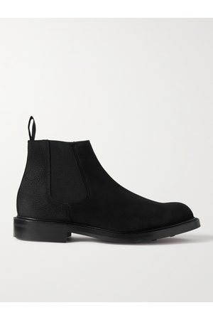 GEORGE CLEVERLEY Men Boots - Jason Full-Grain Suede Chelsea Boots