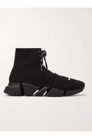 Balenciaga Men Sneakers - Speed 2.0 Stretch-Knit Sneakers