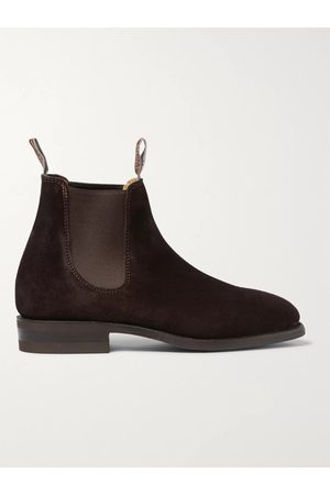 R.M.Williams Men Boots - Comfort Craftsman Suede Chelsea Boots