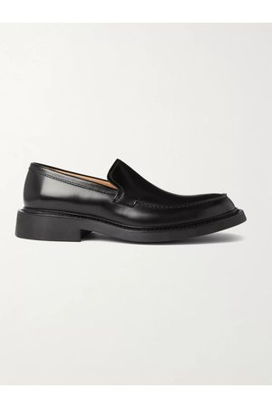 Bottega Veneta Level Leather Loafers