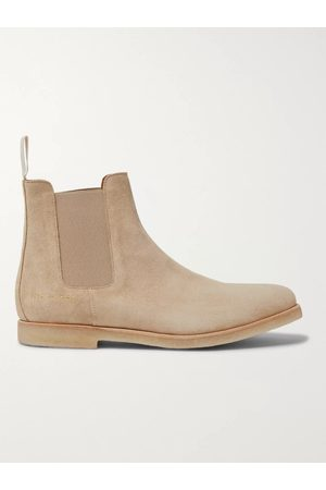 COMMON PROJECTS Men Boots - Suede Chelsea Boots
