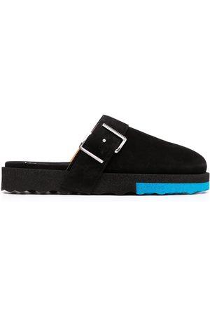 Off-White Buckle-detail Sponge slippers