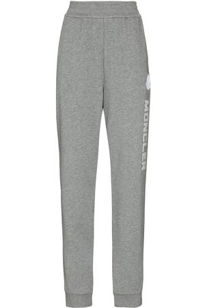Moncler Women Pants - Logo-embroidered track pants