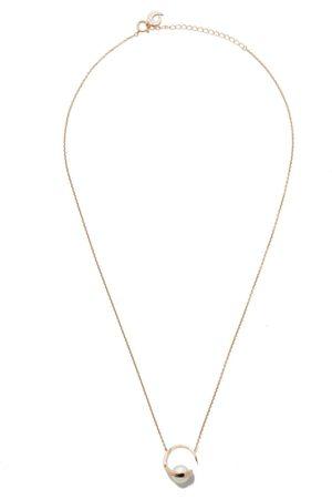Tasaki 18kt rose Aurora Akoya pearl pendant