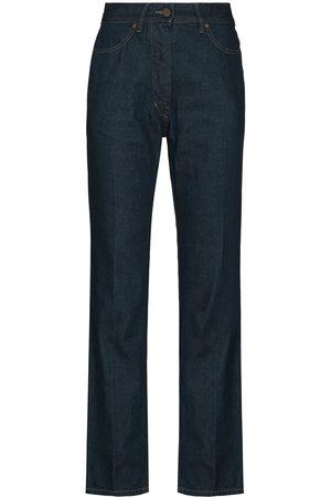 LEMAIRE High-waisted straight-leg jeans