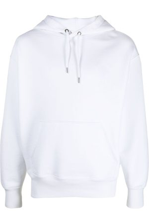 Ami Embroidered-logo drawstring hoodie
