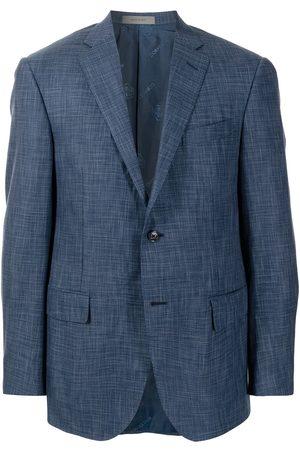 corneliani Virgin wool-blend single-breasted blazer