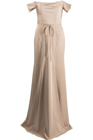 Marchesa Notte Rimini off-shoulder dress