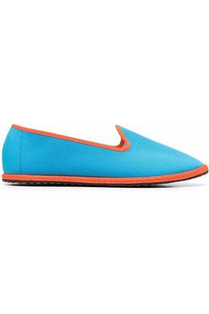 VIBI VENEZIA Contrast-trim slip-on slippers