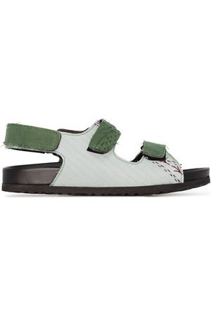 BY WALID Felix touch-strap sandals