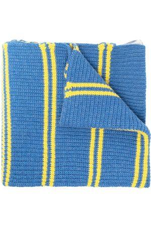 Marni Dual-pattern chunky-knit scarf