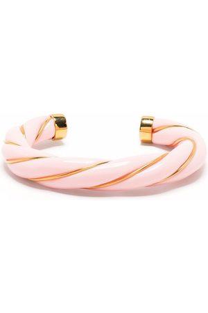Aurélie Bidermann Diana woven-look bangle bracelet