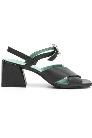 Blue Bird Crossover-strap open-toe sandals
