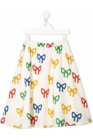 Mini Rodini Bow-print skirt