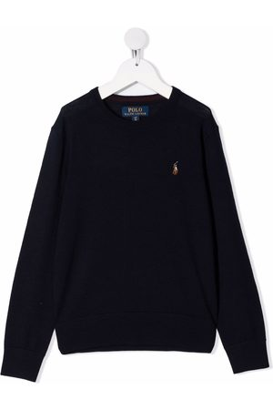 Ralph Lauren Pony logo embroidered jumper