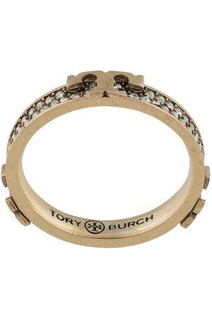 Tory Burch Serif-T embellished ring