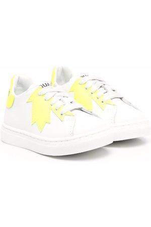 Dsquared2 Maple leaf-print sneakers