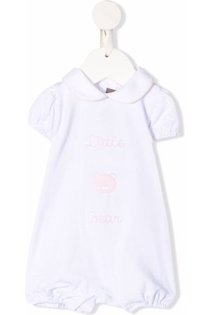 LITTLE BEAR Baby Bodysuits - Embroidered cotton shorties