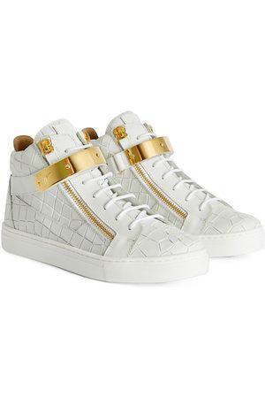 Giuseppe Zanotti Kriss 1/2 snakeskin-effect sneakers