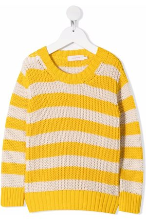 Tiny Cottons Striped cotton jumper